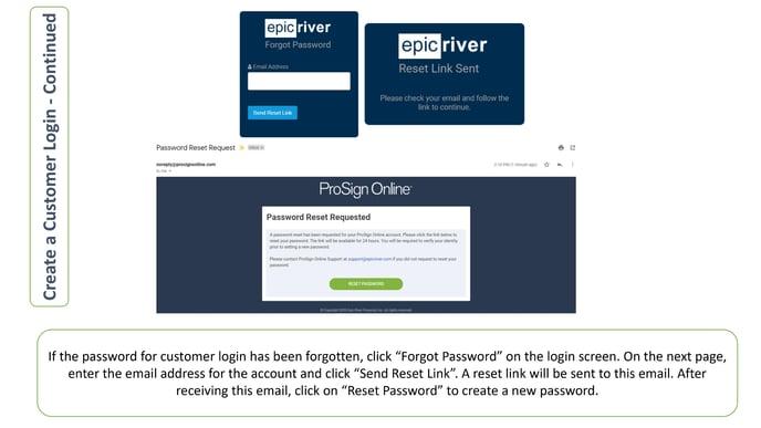 Create Customer Login - 3